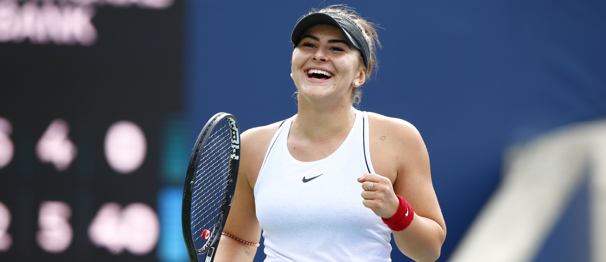 Bianca Andreescu at Tennis Rogers Cup