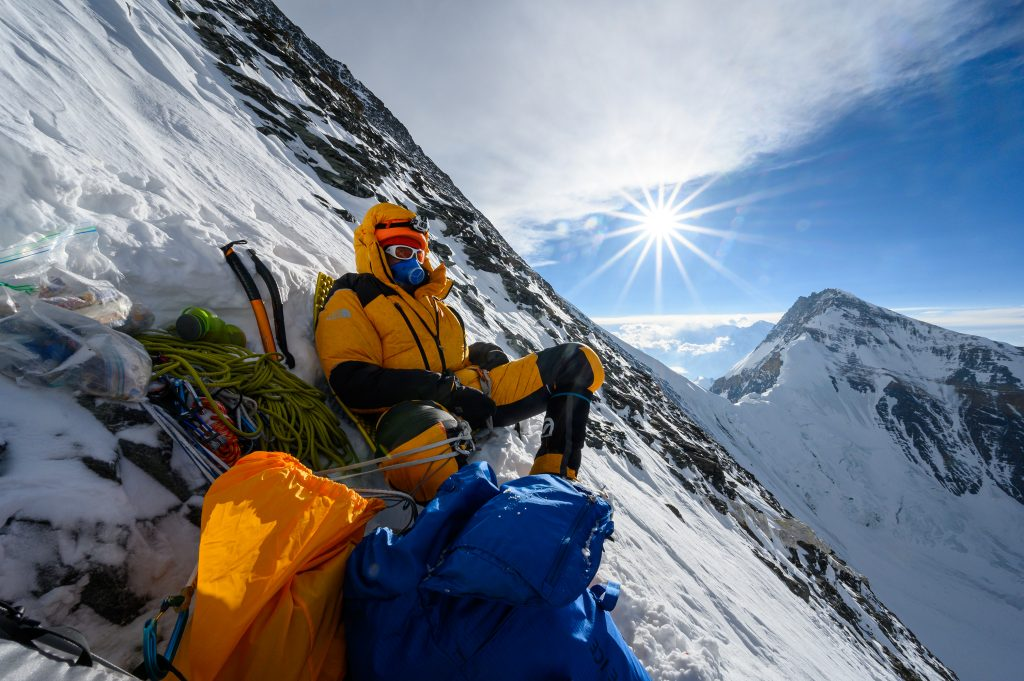 Cory Richards, Everest photographer